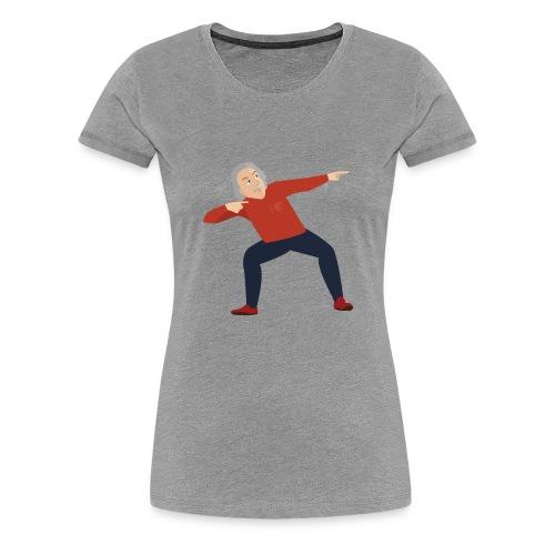 Einstein dancin' - Women's Premium T-Shirt