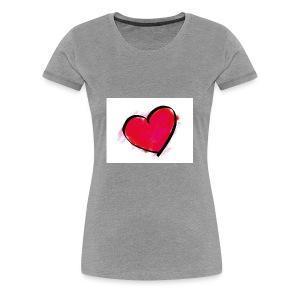 heart 192957 960 720 - Women's Premium T-Shirt