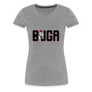 Official BUGA Logo - Women's Premium T-Shirt