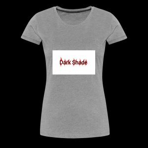 Dark Shade White - Women's Premium T-Shirt