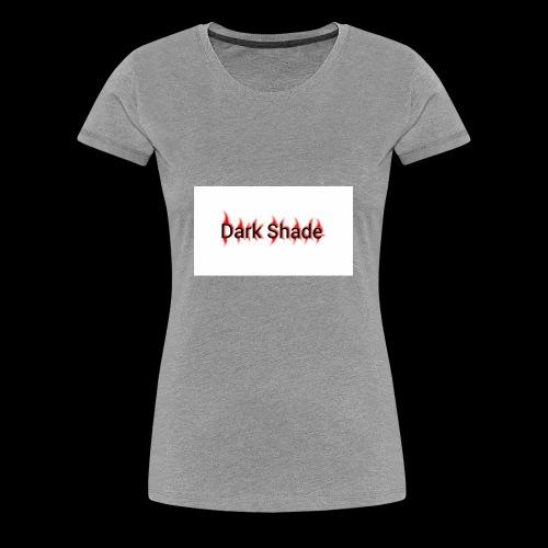 Dark Shade White - Women's Premium T-Shirt