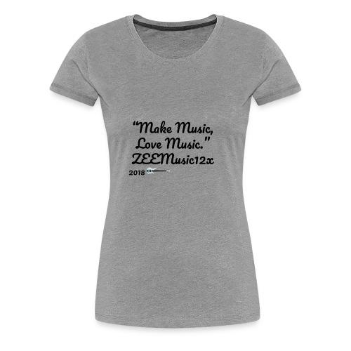 ZEEMusic Merch - Women's Premium T-Shirt