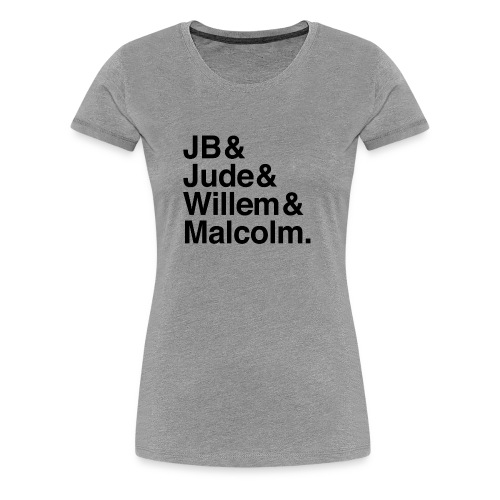 jude jb willem malcolm merch - Women's Premium T-Shirt
