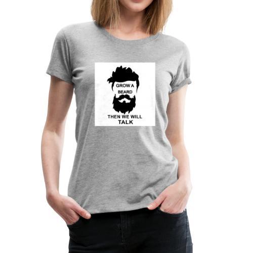 Beard - Women's Premium T-Shirt