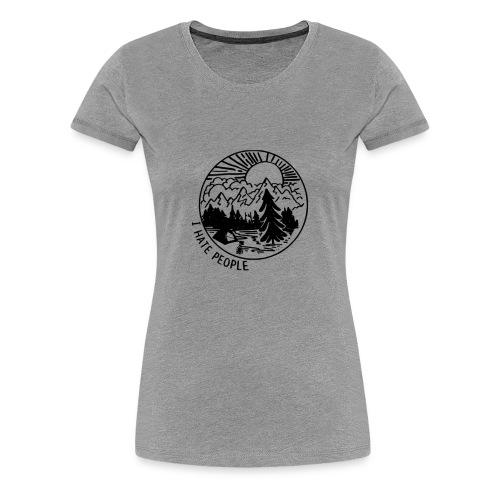 hate people merch - Women's Premium T-Shirt