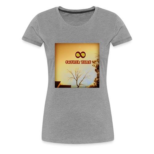 fathertime - Women's Premium T-Shirt