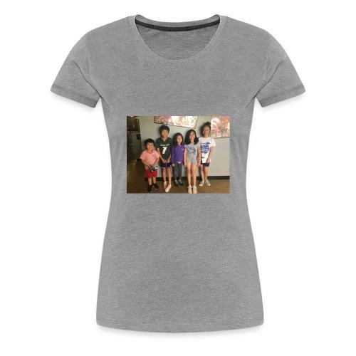 56EF43E5 70CE 4ACC 81CF 7A6B07D4C106 - Women's Premium T-Shirt