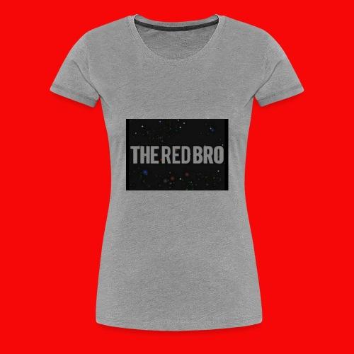 The Red Bro Merchandise - Women's Premium T-Shirt