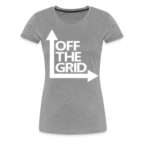 OFF THE GRID - Women's Premium T-Shirt