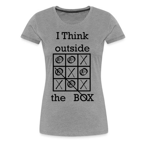 Tic Tac Toe - Women's Premium T-Shirt