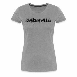 stardewblack - Women's Premium T-Shirt