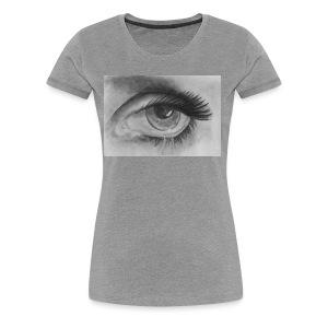 CryingEye - Women's Premium T-Shirt