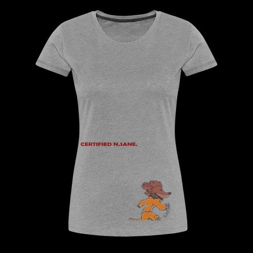 Free Bandicoot (Certified N.Sane). - Women's Premium T-Shirt