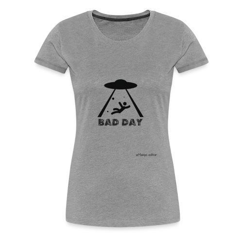 az mal dia estraterestre - Women's Premium T-Shirt