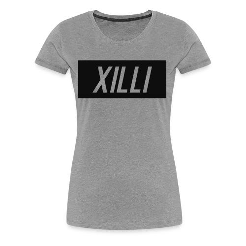 Xilli Logo - Women's Premium T-Shirt