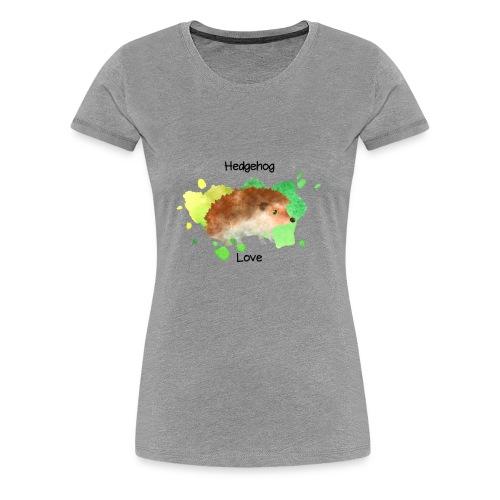 Hedgehog Love - Women's Premium T-Shirt