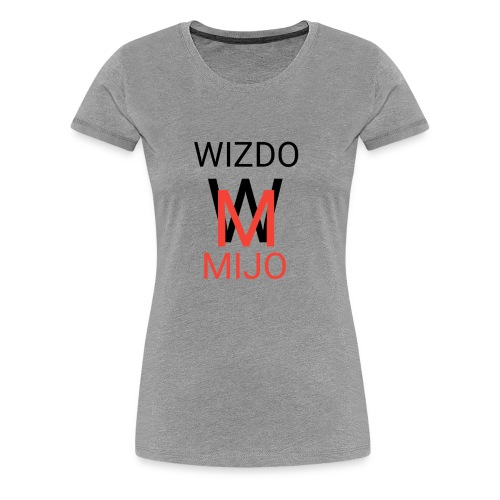 Wizdomijo mearch for YouTube - Women's Premium T-Shirt