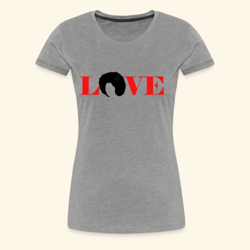 Love natural tee - Women's Premium T-Shirt