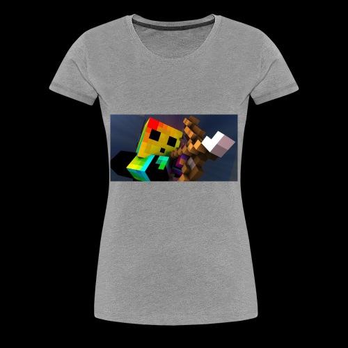 MathWolfGaming - Women's Premium T-Shirt