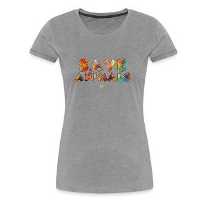 Save Animals by ATG - Women's Premium T-Shirt