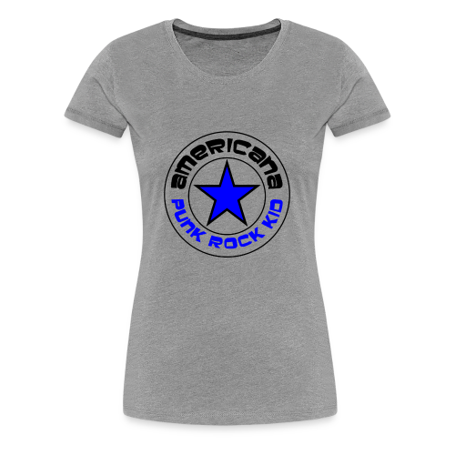 Americana Punk Rock Kid - Women's Premium T-Shirt