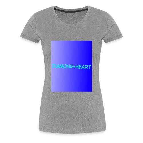 DiamondHeartmerch2 - Women's Premium T-Shirt