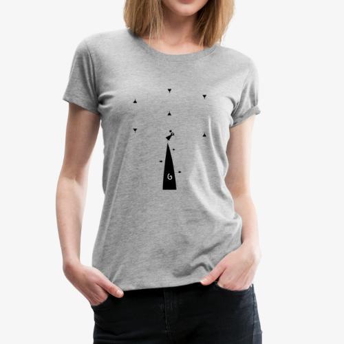alone - Women's Premium T-Shirt