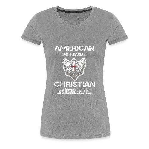 American Christian - Women's Premium T-Shirt