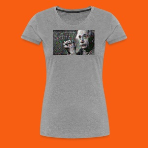 ES1 Einstein Quote - Women's Premium T-Shirt
