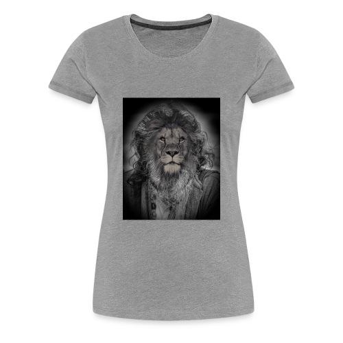 lion man - Women's Premium T-Shirt