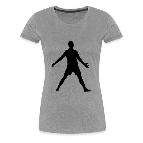 football player celebrating - Women's Premium T-Shirt