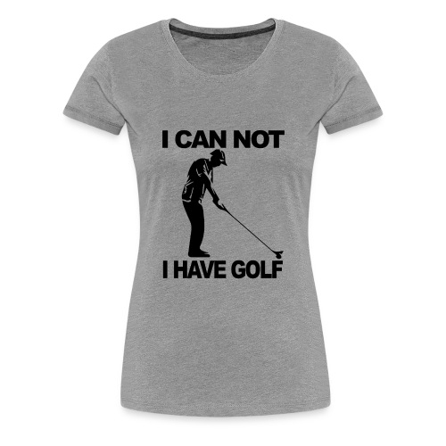 Golf Design - Women's Premium T-Shirt