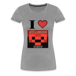 I heart ike - Women's Premium T-Shirt