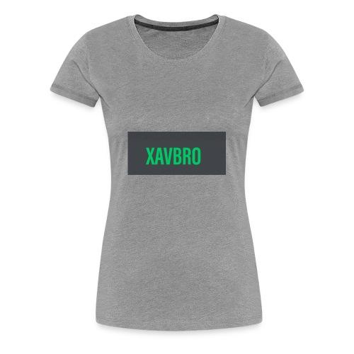 xavbro green logo - Women's Premium T-Shirt