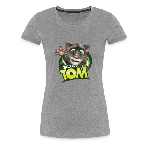Talking_TOM_wave_preview_lowRes - Women's Premium T-Shirt