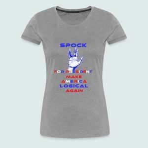 Spock for President - Women's Premium T-Shirt