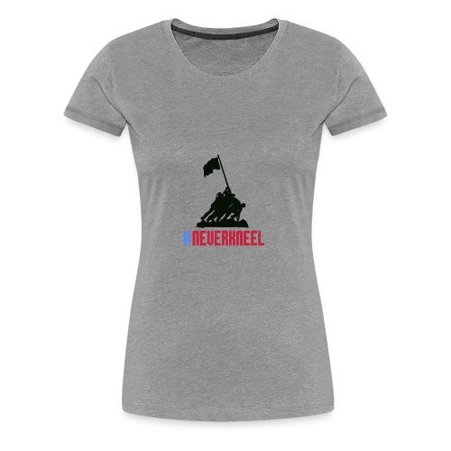 #NEVERKNEEL Shirt - Women's Premium T-Shirt