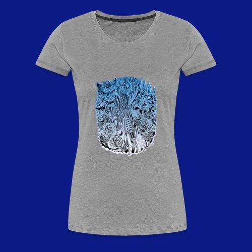 Comedy tragedy - Women's Premium T-Shirt