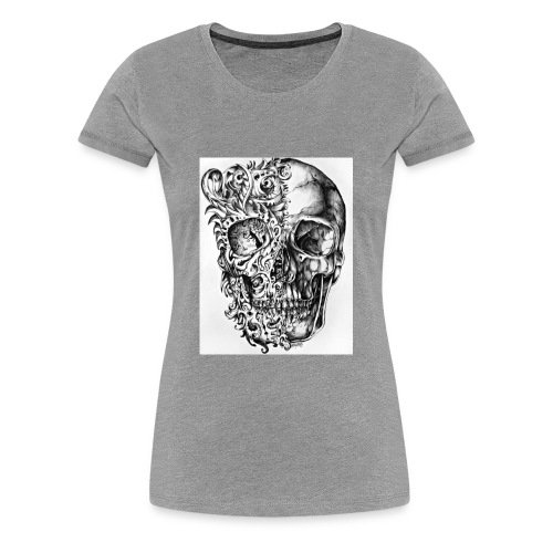 skull of madness - Women's Premium T-Shirt