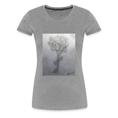 Ziyyon Flower - Women's Premium T-Shirt