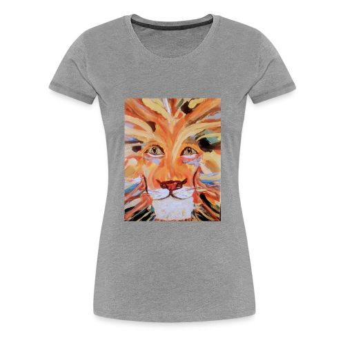 Daktari the colorful lion - Women's Premium T-Shirt
