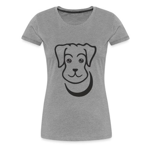 puppy - Women's Premium T-Shirt