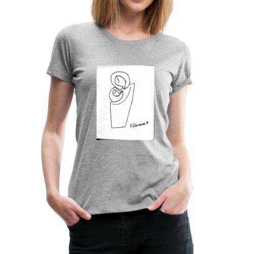 MC drawing - Women's Premium T-Shirt