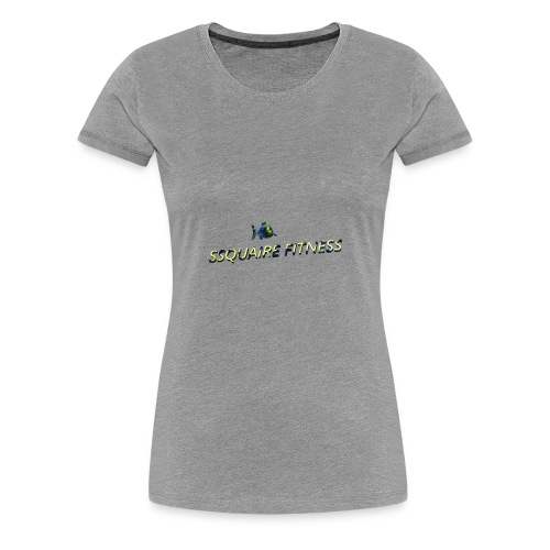 Ssquaire Fitness Underwater - Women's Premium T-Shirt