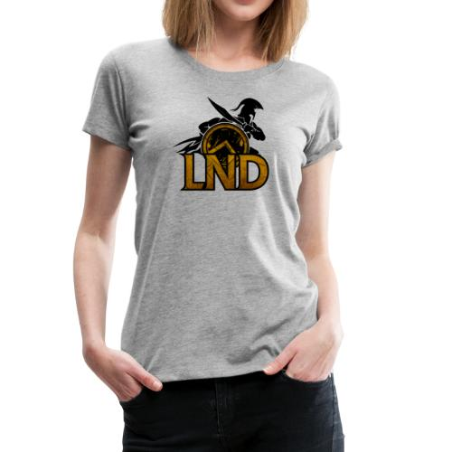LND Logo Design - Women's Premium T-Shirt