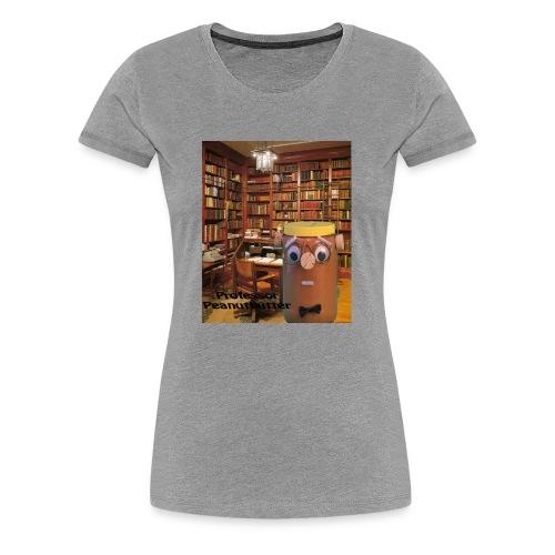 Professor Peanutbutter - Women's Premium T-Shirt