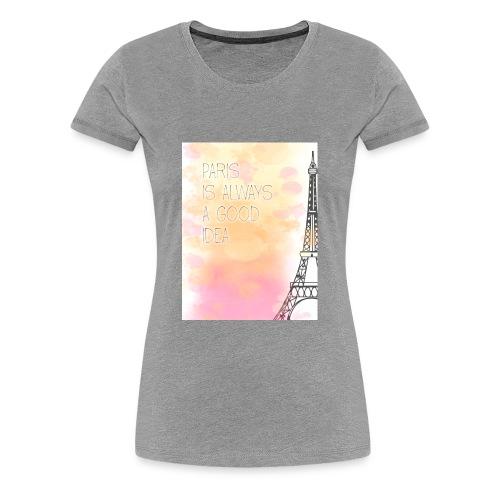 PARIS GOOD IDEA watercolor - Women's Premium T-Shirt