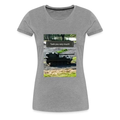 Tank you shirt. - Women's Premium T-Shirt