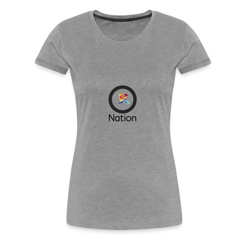 Reaper Nation - Women's Premium T-Shirt