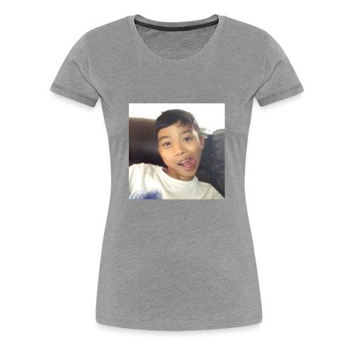 Jahziel Ona Fan Shirt (Face) - Women's Premium T-Shirt